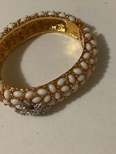 Signed Kenneth Jane Lane star fish White bracelet