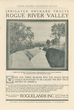 1911 Rogue River Valley Land Ad Fruit Orchards Farming Property Sale Oregon