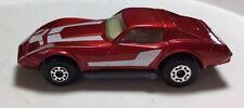 Matchbox No 62 Chevrolet Corvette 1/64 Maroon Chevy Vette