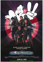 GHOSTBUSTERS 2 MOVIE POSTER Original 27x40 One sheet N. Mint Rolled BILL MURRAY