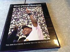 2000 storybook season Baltimore's run to the Super Bowl book