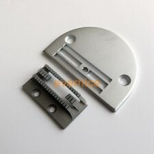 Heavy Sewing Feed Dog +Throat Plate For Juki Ddl-555+Single Needle Sewing Machin