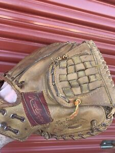 Rawlings Heart Of The Hide DB7 USA Vintage Catchers Mitt RH Glove