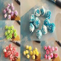 Wholesale! 50-500pcs Simulation Flowers Beautiful Silk Flower Heads Wedding