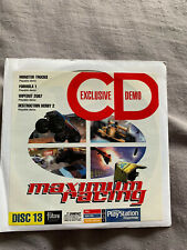 Official UK Playstation One Demo Game Disc 13 SCED-00364 PAL PS1 Rare Retro PS5