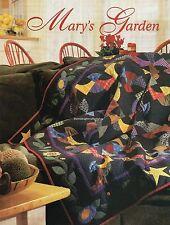 Mary's Garden Quilt Pattern Pieced/Applique CS