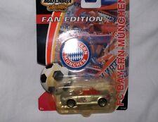 FC Bayern München Modell Auto Matchbox Fan Edition silber Neu,OVP,Lizenz-RAR