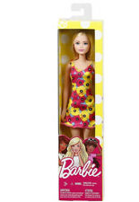 Mattel - Barbie Basic Doll - Blonde Poppy Dress - Brand New