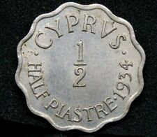 More details for 1934 1/2 piastre cyprus george v, unc km-20