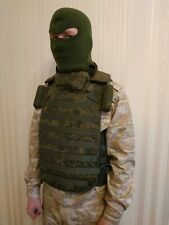 Perfect for Airsoft! Original Russian army vest 6B45 hard Case molle.Size 3