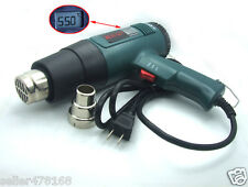 60 ℃ -600 ℃ 1800W LCD display AC 110V Industrial hot air gun for SMA BNC N plug