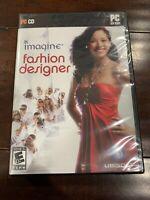 New Imagine Fashion Designer PC Game Sealed / Free Shipping!!!
