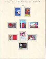 Niederlande Holland Pays Bas 1978 Lot 2**