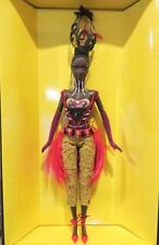 Tano Barbie Doll Byron Lars Designer Gold Label MIMB Shipper