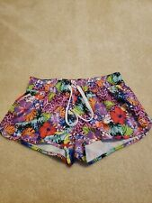 Op Floral Exercise Shorts Womens Size Small (3-5)