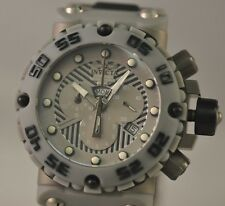 New Invicta 0657 Subaqua Nitro Chronograph Two Tone Titanium Bracelet Watch