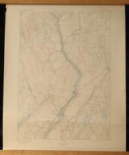 WATERVILLE Maine Topo Map 15 Min 1897 Fairfield Winslow Kennebec River Clinton