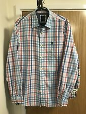 Crew Clothing Shirt Large Multi Coloured Casual Mens