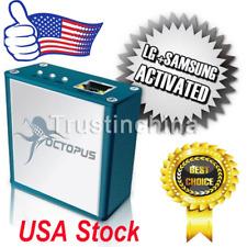Octopus box Activated LG and Samsung Repair Flash unlocker + 19 CABLES USA