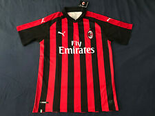 AC Milan Soccer Jersey 2018/2019 Serie A Shirt Italy Small