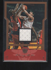 KIRK HINRICH 2004-05 SKYBOX LE JERSEY CARD #12  /99