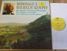 2740 131 Hommage a Wilhelm Kempff - Beethoven Piano Concertos 4 LP box