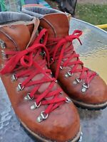 Dunham Vintage Hiking Hiker Mountaineering Leather Boots M 8.5
