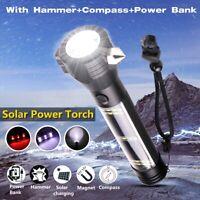9 in 1 Multi-Functional T6 LED Flashlight Emergency Torch Lamp Light + Battery