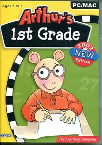 PC/MAC Arthur's 1st Grade