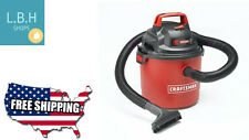Craftsman Portable Wall Mount 2.5 Gallon Blower HP Wet Dry Vac Vacuum Cleaner