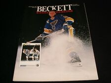 BECKETT HOCKEY MONTHLY °  NOVEMBER 1991 <>  BRETT HULL
