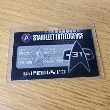 Star Trek ID Badge-Voyager Section 31 Special Agent Costume Cosplay Design C