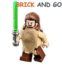 Lego Minifig Figurine Star Wars SW651 Qui-Gon Jinn + Sabre Lightsaber New New