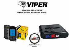 Viper 4706V 2 Way LCD Auto Remote Start System w/ Bypass Module DBALL2  R/B