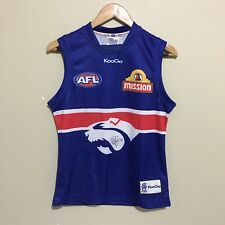 Western Bulldogs Guernsey Dale Morris Signature Signed AFL Jersey Boys Youth 16