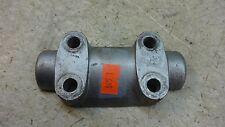 1965 honda ca95 baby dream benly H945-1~ upper top bar handlebar clamp