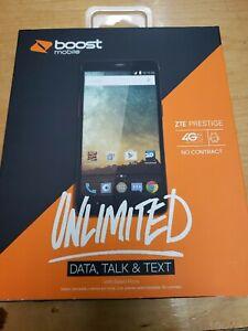 ZTE Prestige - 8GB - Black - Boost Mobile
