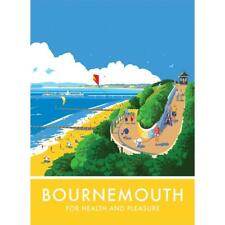 Bournemouth steel fridge magnet  pt   (se)