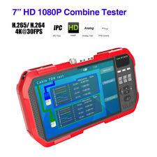 "7"" Tester Monitor DT-A82 CCTV Camera H.265 ONVIF AHD CVI HDMI Analog PTZ Control"