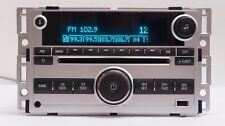 2009-2012 Chevrolet Malibu CD MP3 Player USB AM/FM Receiver AUX OEM 20940843
