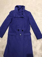 Paul Smith Black Label wool with cashmere blue coat, size 10UK