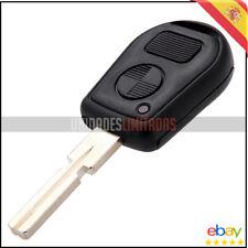 CARCASA DE 2 BOTONES PARA LLAVE DE BMW E30, E31, E32, E34, E36. ESPADA HU58 KEY