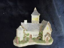 Resin Decorative Collectable Church Figurine 4x3