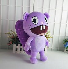 Happy Tree Friends HIF Toothy Purple Plush Stuffed Toy Doll 'Cosplay gift