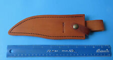 """BEAR & SON USA 3/4 Bowie Knife Leather Sheath 500D - NEW 7"""" to 8"""" Blade 500D34"""