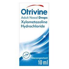 Otrivine Adult Nasal Drops 10ml Works in Minutes