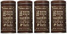 1, 2, 4 Pack Trader Joe's BBQ Rub and Seasoning with Coffee and Garlic, 3.5 oz