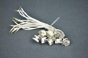 10x Lampen Fassung Sockel 12V G4 MR16 GU5,3 GX5,3 GY5,3 MR11 GU4 max. 50 Watt