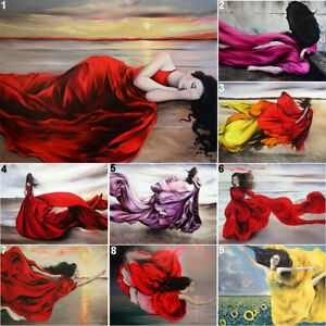 Dream Girl Full Drill DIY 5D Diamond Painting Cross Stitch Kits Mosaic Decor Art