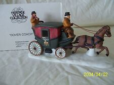 "Department 56 Dickens Village ""Dover Coach"" #65900 Mint!"